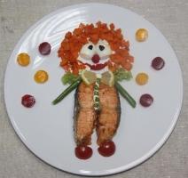 Детское блюдо Клоун Вася