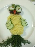 Детское блюдо Совёнок