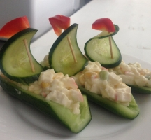 Детское блюдо Кораблики